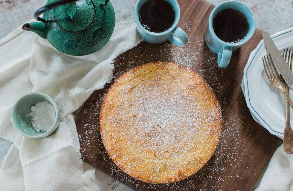Sweet Orange Tea Cake