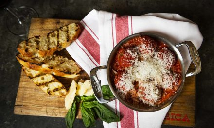 CHEF MARK MCEWAN'S CLASSIC TOMATO SAUCE WITH VEAL & RICOTTA MEATBALLS